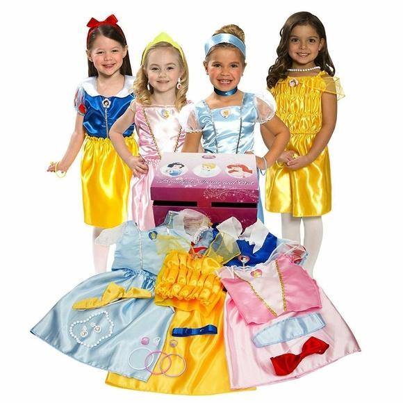 Disney Other - Disney Princess Dress Up Trunk Original w/ Jewelry